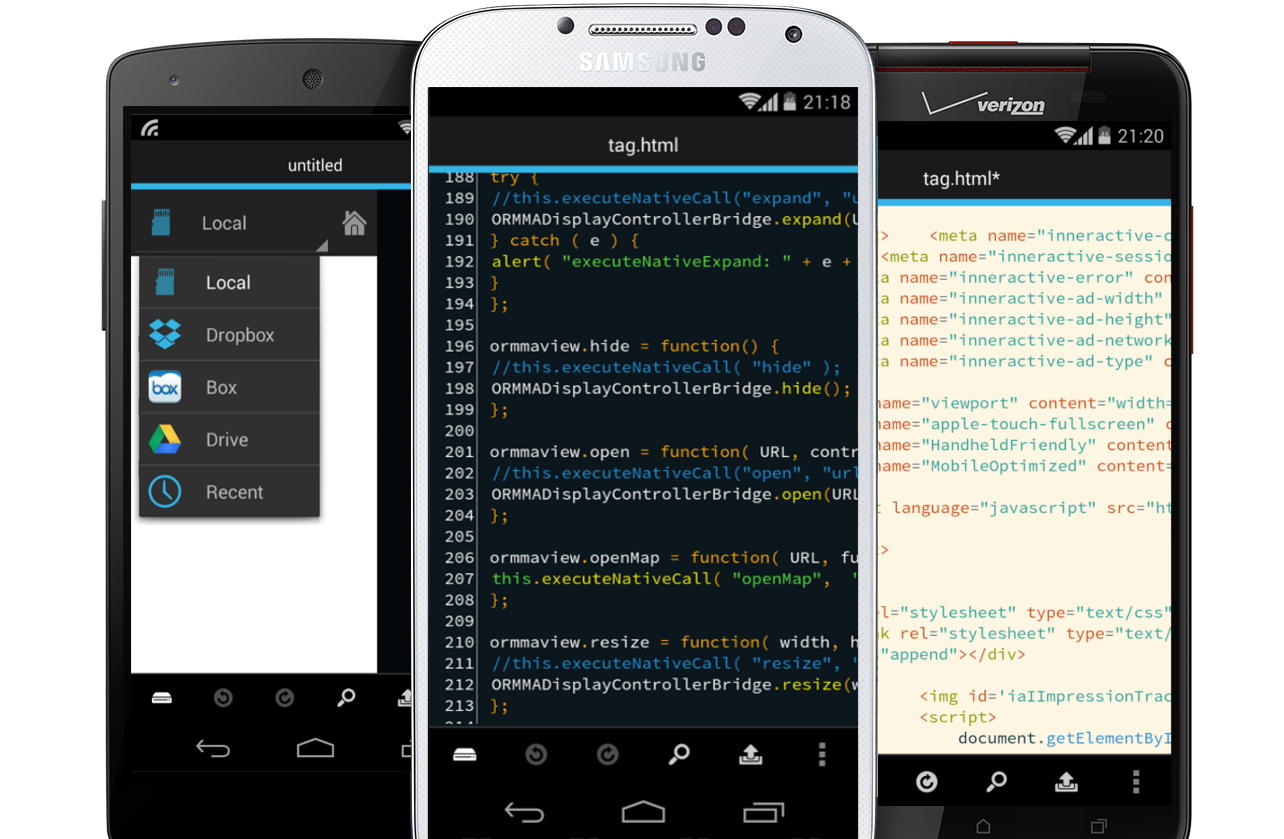 DroidEdit - Android Code and Text Editor
